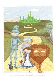 mago de Oz / wizard of Oz