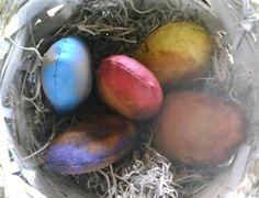 Prim cloth eggs