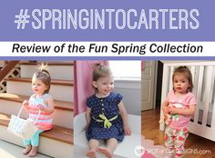 Spotofteadesigns.com reviews @Carters Spring Collection  #SpringIntoCarters #Ic #ad