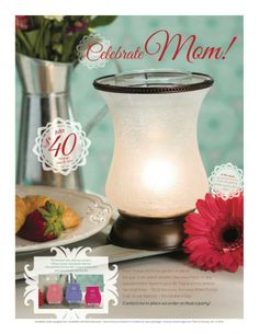 MOTHERS DAY BUNDLE <3 Just $40! Fresh flowers from the garden. A day at the spa. A decadent dessert. Give your mom, or any special mother figure in your life, fragrances to remind her of all three — PLUS the curvy, feminine White Crackle Tulip Shade Warmer — this Mother's Day! Available while supplies last This limited-time offering contains: 1 White Crackle Tulip Shade Warmer, 1 Peony Petals Scentsy Bar, 1 Sugar Scentsy Bar, and 1 Zen Garden Scentsy Bar