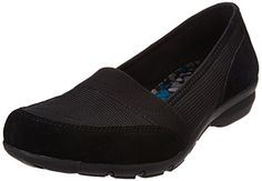 Skechers Womens CareerMeeting Flat Black Stripe 65 M US >>> See this great product by click affiliate link Amazon.com