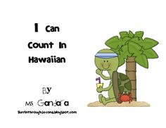 Learn to count in Hawaiian