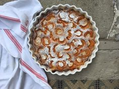 Aux Bulles Blog Sommerrezepte - les abricots Pie, Desserts, Blog, Bubbles, Food And Drinks, Food Food, Torte, Tailgate Desserts, Cake