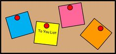 """I challenge you to put together a physical list of things that you'd like to work on in yourself – your very own """"to you list."""""""