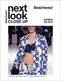 Next Look Close Up Women Beachwear Subscription - (PRINT EDITION) Cashmere Wool, Beachwear For Women, Fashion Studio, Close Up, Kimono Top, Blouse, Ss, Trends, Blouse Band