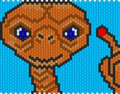 ET Phone Home 2 Bead Pattern