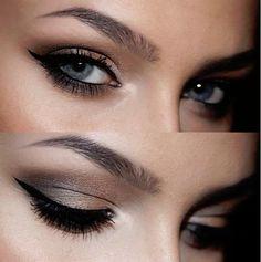 Smokey Shimmery Eye