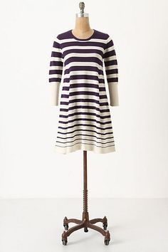 Gradient sweater dress. Anthropologie.