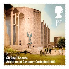 Sir Basil Spence stamp
