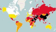 È diminuita la libertà di stampa nel mondo nel 2014 - Internazionale