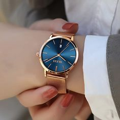 Trendy Watches, Elegant Watches, Luxury Watches For Men, Beautiful Watches, Cool Watches, Cheap Watches, Nixon Watches, Casual Watches, Stylish Watches For Girls