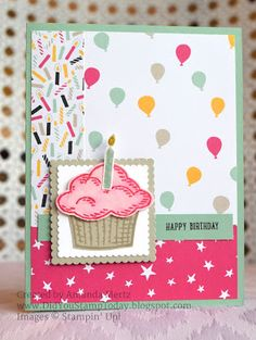 Did You Stamp Today?: Party with Cupcakes - Stampin' Up! Sprinkles of Li...