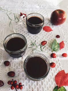 Gelée de canneberges et pommes à l'érable | Cranberries, apples and maple syrup jelly