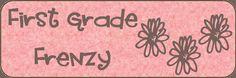 First Grade Frenzy: http://first-grade-frenzy.blogspot.com/