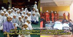 (FOTO) Sayu Menatapnya..Inilah Antara Wajah 20 Pelajar Tahfiz Yang Meninggal Dunia Akibat Kebakaran   (FOTO) Sayu Menatapnya..Inilah Antara Wajah 20 Pelajar Tahfiz Yang Meninggal Dunia Akibat Kebakaran  Pagi ini Malaysia dikejutkan dengan berita sebuah pusat tahfiz terbakar yang dikhabarkan mengorbankan lebih 20 orang pelajarnya. Pusat Tahfiz Darul Quran Ittifaqiyah di Jalan Keramat Ujung terbakar kira-kira 5 pagi tadi. Jabatan Bomba dan Penyelemat Kuala Lumpur mengatakan kebakaran…