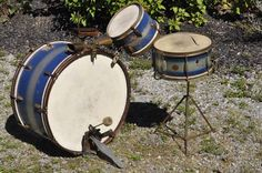 Slingerland Duco 1930's Snare and WFL Bass Tom Kit Radio Kit WOW Early | eBay