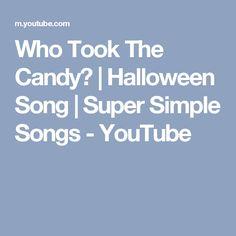 Five Creepy Spiders   Halloween Song   Super Simple Songs ...