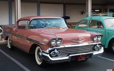 1958 Chevrolet Bel Air Impala HT - Cay Coral Poly - fvr by Pat Durkin - Orange County, CA, via Flickr