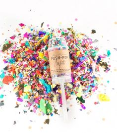 What's a party or celebration without confetti? Colorful gold & metallic confetti is always a fave. Choose from push pop confetti, confetti circles, confetti shred and more! Wedding Send Off, Wedding Exits, Our Wedding, Dream Wedding, Autumn Wedding, Wedding Favors, Push Pop Confetti, Confetti Poppers, Party Poppers