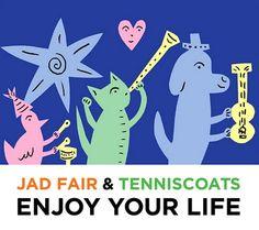 Jad Fairのアートワークかわいい