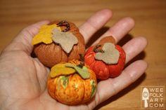 Mini Pumpkins | Wee Folk Art