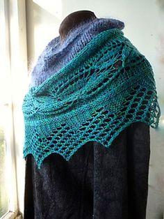 Linnea shawl - lovely free pattern on Ravelry