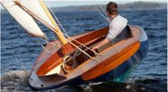 Beautiful Boat! Think the helm should be wearing some safety equipment though!