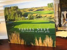Check out this great coffee table book that tells you all about the creation of the course at Eagles Nest Golf Club! For sale in the golf shop! www.eaglesnestgolf.com