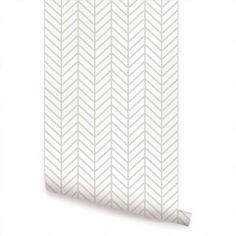 herringbone peel & stick wallpaper
