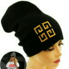 Beanie Greece Logo Theme Urban Fashion Accessories Hats