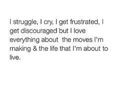 So So True.....I'm trying and Noone realizes how hard it is...