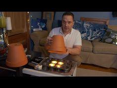 18 Cold Weather Hacks To Keep You Warm & Reduce Bills - Clay pots Emergency Preparedness Kit, Emergency Preparation, Emergency Bag, Diy Heater, Diy Candle Heater, Homemade Heater, Life Hacks, Clay Pot Crafts, Diy Crafts