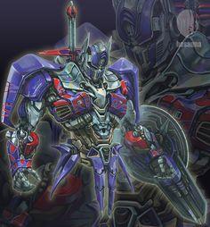 Transformers_Age of Extinction_Optimus Prime by hosanna9.deviantart.com on @deviantART