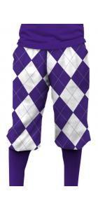 Purple & White Knickerbockers