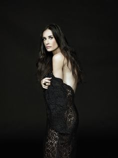 Fashion & Glam Photography - Demi Moore by Brian Bowen Smith