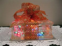 Red & Gold Sparkle Diamond Ribbon with MULTI by Originalsbysuej, $25.00