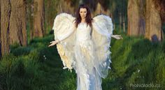 Picture of Marvelous lady-angel in the forest stock photo, images and stock photography. Love Tarot Reading, Dream About Me, Beautiful Flowers, First Love, Romantic, Photoshoot, Stock Photos, Boho, Lady