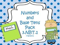 Review Place Value with this amazing hands or product.  Each activity can be used a math stations, guided practice activity or review activity for a lesson.This is a great product to enrich those 2nd graders, teach 3rd graders and review for 4th graders.This 64 page pack includes 3 activities.