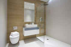 Contempoary shower room