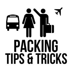 Packing Tips & Tricks. Because sometimes you go to a third world country and you can only pack in a back pack ...