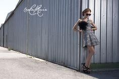 Vestido de Cocktail de Carla Ruiz 2012 - Modelo 86208