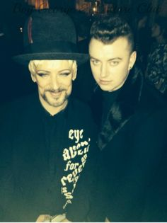 At the @EsquireMagazine party with @samsmithworld