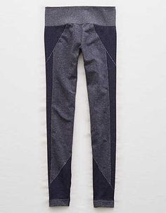 Aerie Play Seamless Legging , Navy | Aerie for American Eagle
