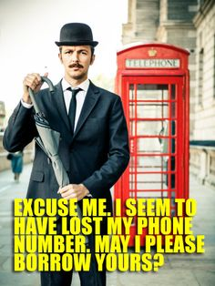 14 Pick-Up Lines Only A Mustachioed Gentleman Can Pull Off Must read all of them!