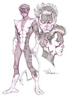 Comic Book Artwork • Nightcrawler by Todd Nauck Comic Book Characters 845e95a56