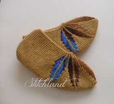Free Slipper Knitting Patterns | In the Loop Knitting