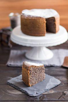 Glutenfreie Mohntorte - Quasi-Premiere - Law of Baking Cookie Desserts, Gluten Free Desserts, Gluten Free Recipes, Fodmap, Cake Cookies, Vanilla Cake, Cake Recipes, Cake Decorating, Paleo