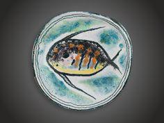 Gádor István - Falitál vitorláshallal Plates, Tableware, Licence Plates, Dishes, Dinnerware, Griddles, Tablewares, Dish, Place Settings