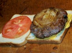Louis' Lunch still serves up the hamburger the same way they did in 1900. Part of my article on the history of the hamburger #burger #food #retro #classic
