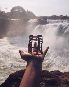 | Bracelete Pedras - Cachoeira da Velha - Jalapão - TO | Austral Acessórios @austral_acessorios